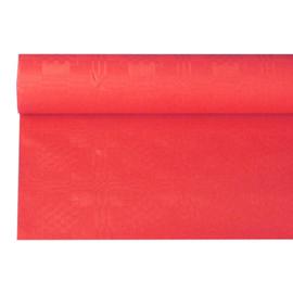 Tafelkleed Damast Papier Rood