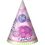Ladybug 1st Birthday Hoedjes