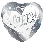 Loving Hearts Happy Anniversary