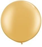 3ft (90cm) ballon pearl gold