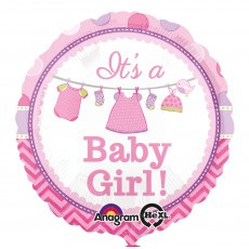 Its A Baby Girl Foil
