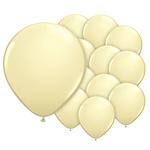 5 inch (12cm) ballonnen ivoor