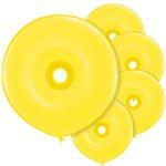 GEO Donut Ballonnen Yellow