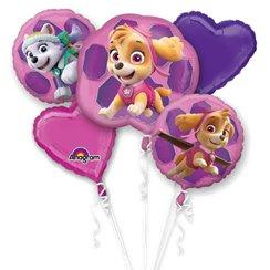 Pink Paw Patrol Ballonnen Boeket