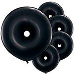 GEO Donut Ballonnen Black
