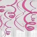 Hanging Swirl Fuchsia