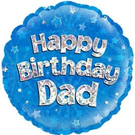 Happy Birthday Dad Foil