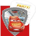 Disney Cars 3 Uitnodingingskaarten