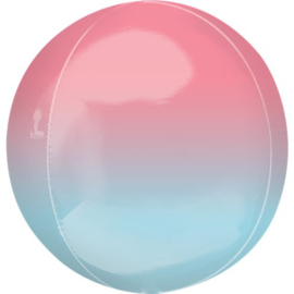 Pink & Blue Orbz Ballon