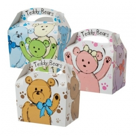 Party Box Teddy Bear