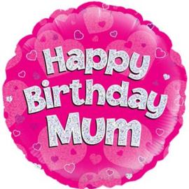 Happy Birthday Mum Foil