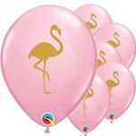 Ballon pink flamingo