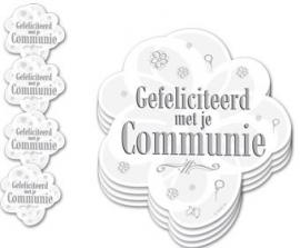 Gefeliciteertd Met Je Communie