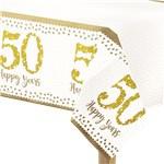 Plastic Tafelkleed 50 Jaar Goud