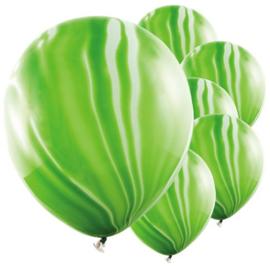 Marmer Ballon Groen