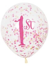 Confetti Ballon 1st Birthday