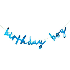 Birthday Boy Letter Banner