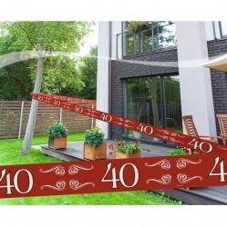 Markeerlint 40 Jaar Robijn Huwelijk