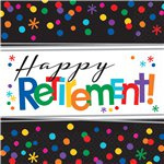 Servetten Happy Retirement