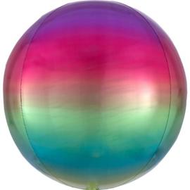 Omber Regenboog Orbz Ballon