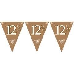 Vlaggenlijn 12,5 Jaar Brons