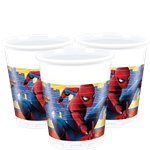 Spiderman Homecoming Plastic Bekers