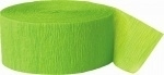Crepe Streamer Lime Groen