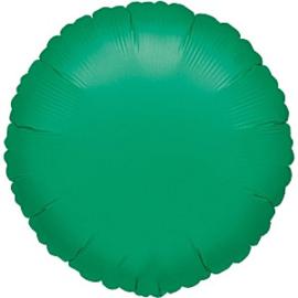 Folieballon rond groen