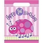 Ladybug 1st Birthday Partybag