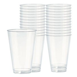 Stevige Plastic Limonade Glazen