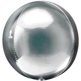 Zilver Orbz Ballon