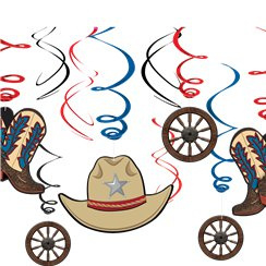 Western Hanging Swirls