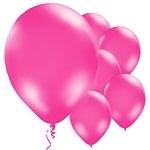 Ballonnen Metallic Fuchisa