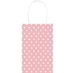 Papieren Gift Bag Rose Dots