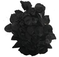 Rozenblaadjes Zwart