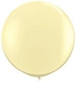 3ft (90cm) ballon ivoor
