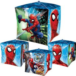 Spiderman Homecoming Cubez Ballon