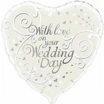 With Love on You Wedding Day Foil