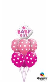 New Baby Boy Butterfly Ballonnenboeket