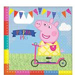 Peppa Pig Servetten