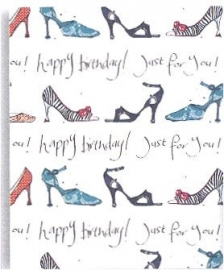 """Cadeaupaier """"Happy B-day just for you"""""""