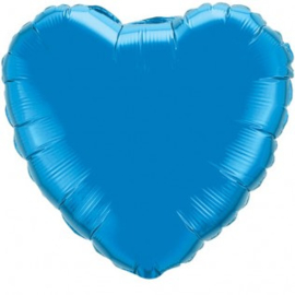 Folieballon royal blue