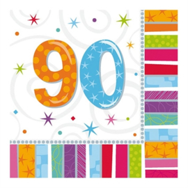 Servetten 90 jaar