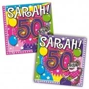 Servetten Sarah