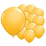 5 inch (12cm) ballonnen goldenrod