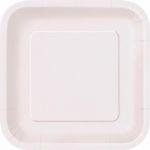 Kartonnen Bord Vierkant Wit