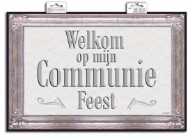 Deurbord Welkom Op Mijn Communie