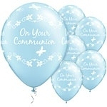 On Your Communion Ballon Blauw
