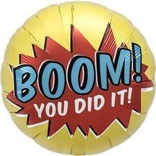 Boom you did it Folie Ballon