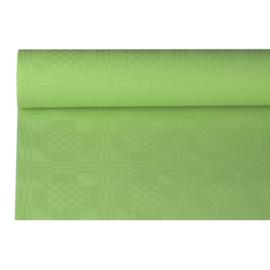Tafelkleed Damast Papier Lime Groen